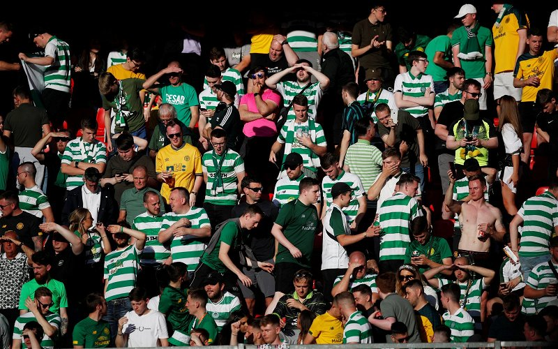 Image for The Media's Hypocrisy On Celtic's Nine In A Row Triumph Is Now Plain For All To See.