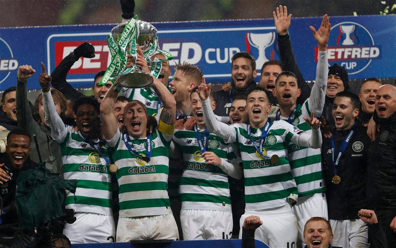 Image for Michael Beale's League Cup Final Comments Are Embarrassing. Celtic Won That Trophy With Ten Men.