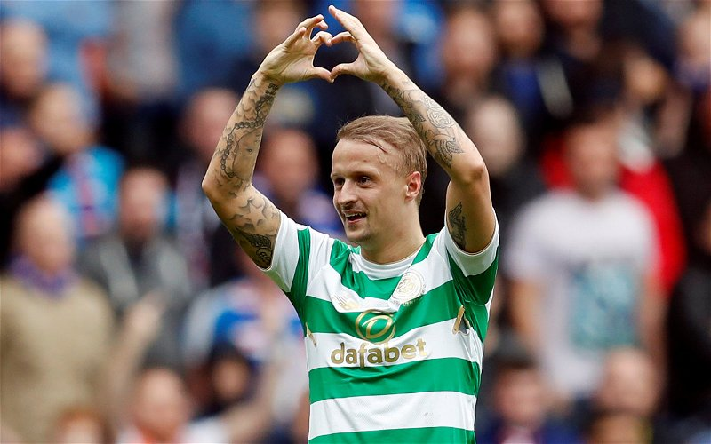 Image for Griffiths' Goal In A Bounce Game Today Is The Last Thing Ibrox Wanted. He's Ready.
