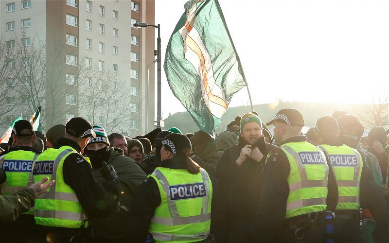 Image for Police Scotland's Arrest Of A 12 Year Old Celtic Fan Was Milked For Maximum Publicity. It's Just Not Right.