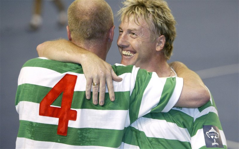 Image for What In God's Name Is McAvennie's Latest Dig At The Celtic Players All About?