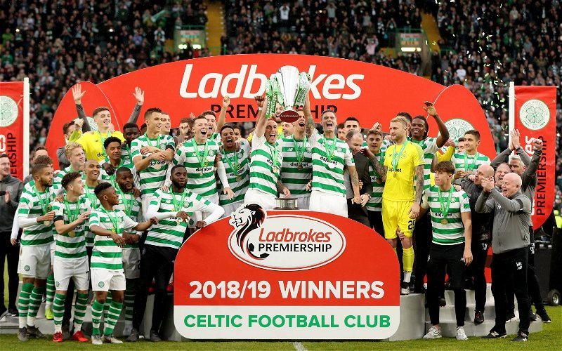 Image for The Suggestion That Celtic Wants The Season Ended Early Is Nothing But A Barefaced Lie.