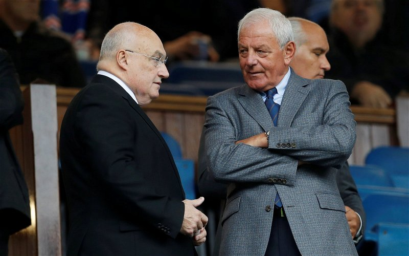 Image for As Celtic Marches Towards Ten Walter Smith Sounds Like A Man Getting Scared.
