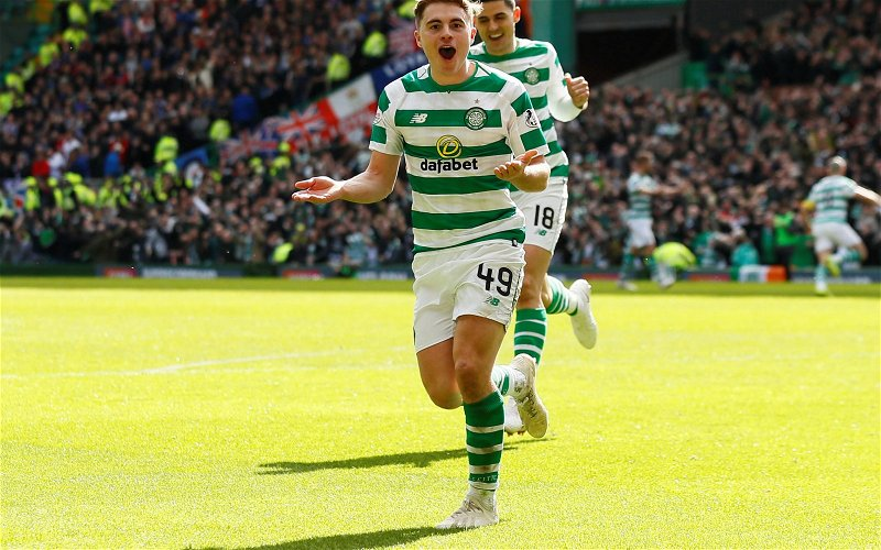 Image for Forrest Is Ten Goals From A Place With The Greats. Celtic Fans Should Honour That.