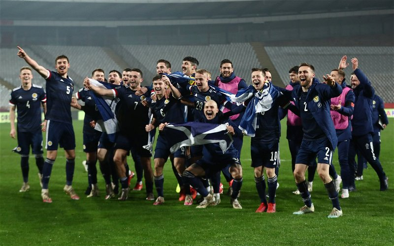 Image for Celtic's Players Have Carried The Scottish National Team Through Darkness Into The Light.