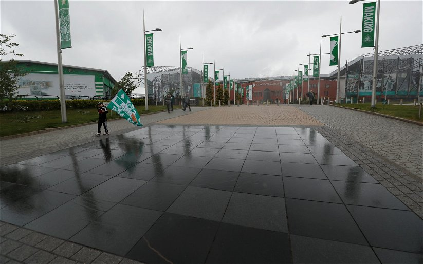 Image for No Real Celtic Fan Produced That Occupy Paradise Leaflet. It Is Deranged.