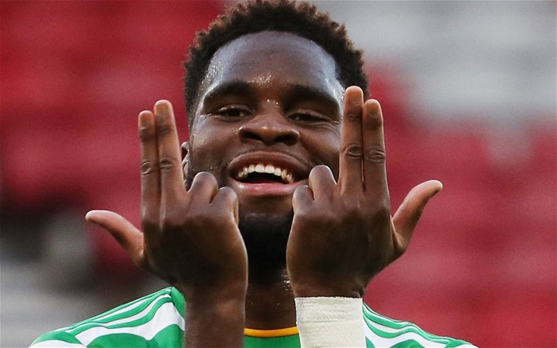 Image for Edouard Looks As If He's Gone And For Celtic That's The Right Decision.
