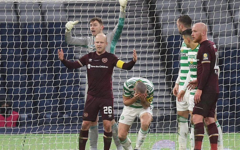 Image for Steven Naismith's Wailing About Brown Is So Predictable. Celtic Fans Are Laughing.