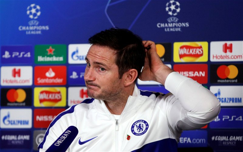 Image for Frank Lampard Would Not Fix Celtic, But He'd Work Wonders For Old Firm Inc.