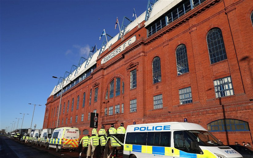 Image for Ibrox Fan Accuses His Fellow Supporters Of Racially Abusing Motherwell Star.