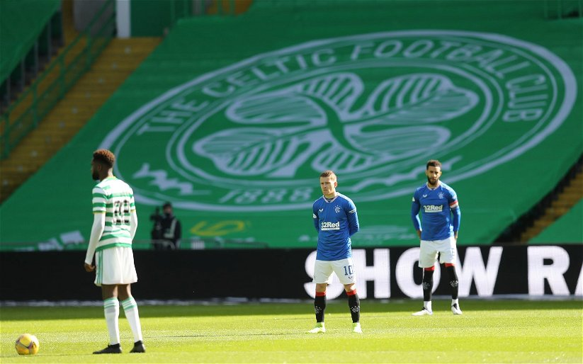 """Image for Celtic Should Never Have Followed Ibrox Into This """"Standing Against Racism"""" Stuff."""