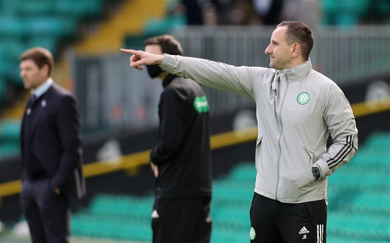 Image for John Kennedy Will Not Be The Next Celtic Manager's Boss.