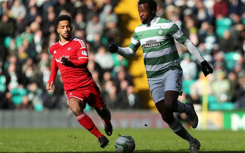 Image for Celtic Fans Will Eat Dirty Today, But Not From The Ex-Aberdeen Nobody.