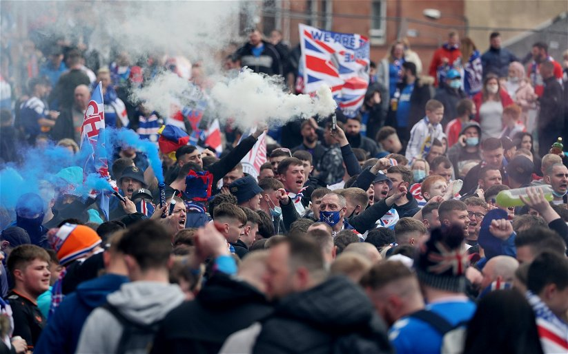 Image for Ibrox Fans Attacks On The Tartan Army Are Ridiculous, Spiteful And Delusional.