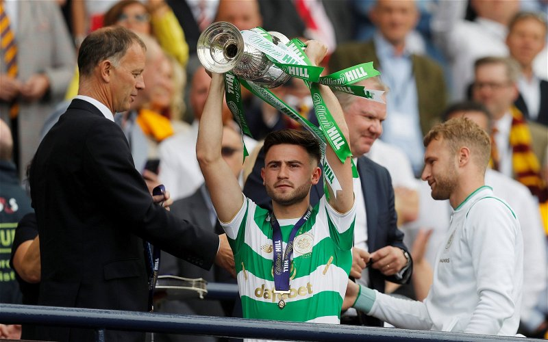 Image for Patrick Roberts And Celtic: The Final Window.