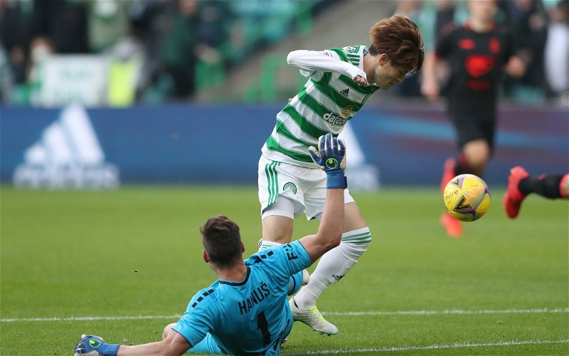 Image for Clickbait Desperados Now Have Kyogo Leaving Celtic After Less Than A Season.