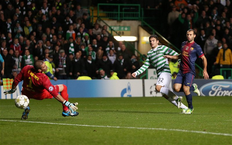 Image for Daily Record Uses Champions League Shocker To Write An Anti-Celtic Article.