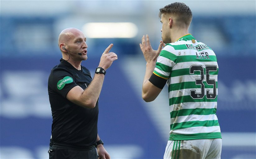 Image for If People Think Celtic Got A Dodgy Decision, Let's Investigate Refereeing.