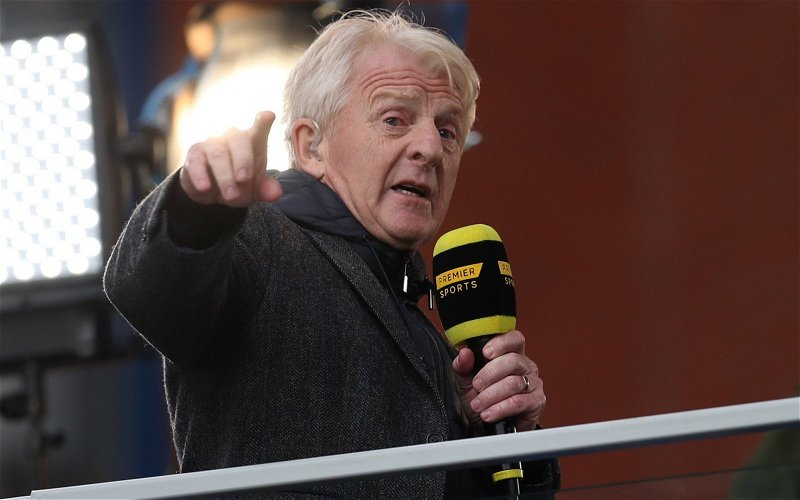 Image for The Strachan Rumour Is Irresponsible Garbage That Celtic Fans Should Avoid.