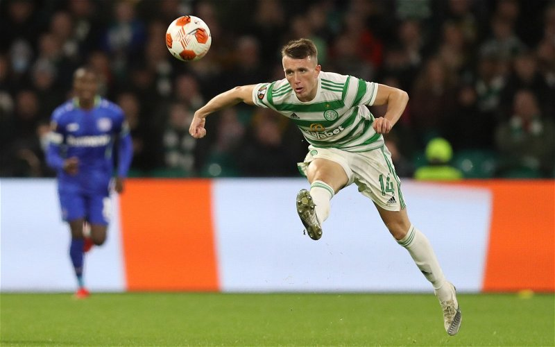 Image for It's Time Celtic Dropped David Turnbull For A While.